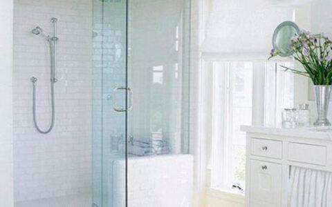Cabin vách kính phòng tắm bản lề thủy lực tại hải phòng