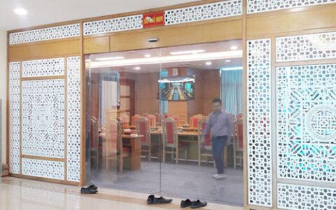 Cửa kính tự động TD02 Hải Phòng