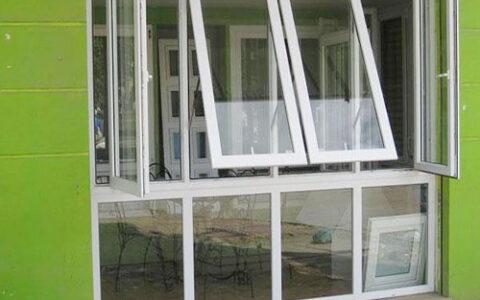 Cửa sổ mở hất kết hợp mở quay tại hải phòng