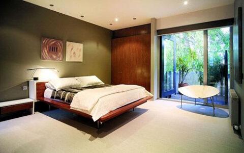 Kính màu phòng ngủ KPN04 tại hải phòng