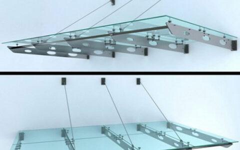 Mái kính cường lực MK03 hải phòng