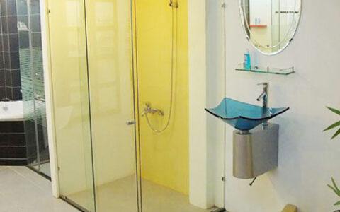 Phòng tắm kính lùa 05 tại hải phòng
