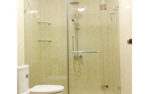 Phòng tắm kính mở quay 01 tại hải phòng