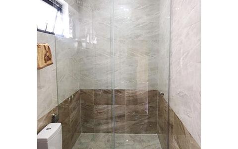 Vách tắm kính cửa lùa 01 tại hải phòng