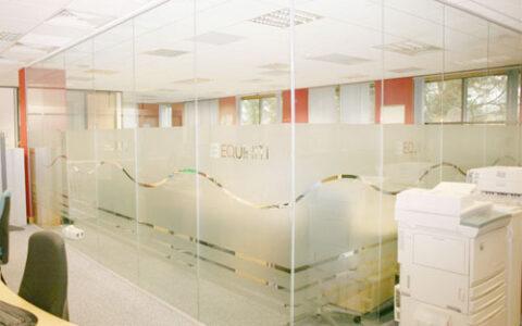 Vách kính văn phòng KVP01 Hải Phòng