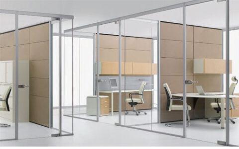 Vách kính văn phòng KVP05 hải phòng