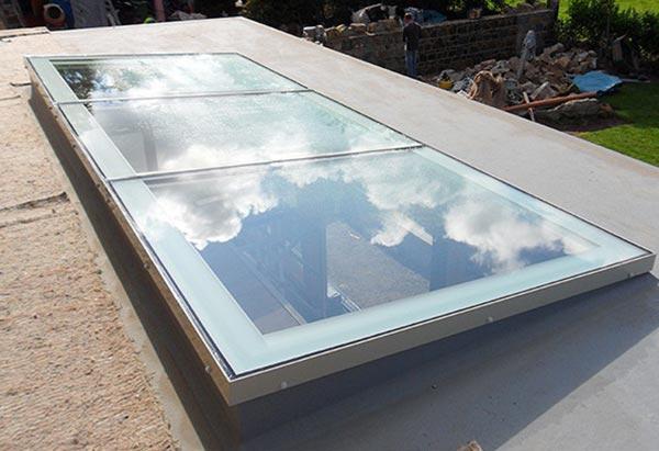 lắp kính giếng trời tại Hải Phòng
