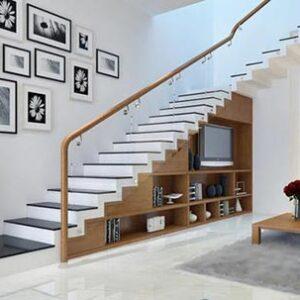 15 mẫu cầu thang kính đẹp nhất