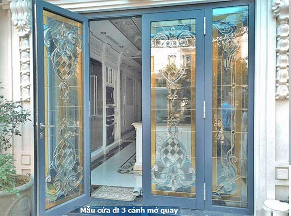 cửa kính hoa đồng đẹp tại hải phòng
