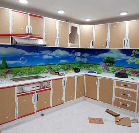 kính màu ốp bếp hải phòng